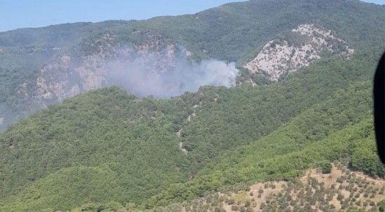 Kazdağları'nda orman yangını! Ekipler müdahale ediyor