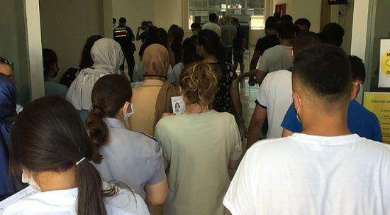 KPSS'ye giren kişi korona çıktı: 30 kişi karantinada