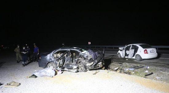 Malatya'da feci kaza: 3 ölü 4 de yaralı var