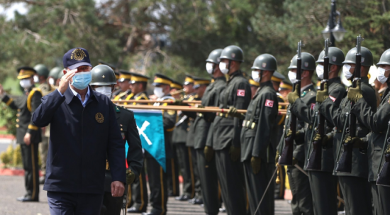 Milli Savunma Bakanı Hulusi Akar Tekirdağ'da!
