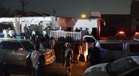Pakistan'da bombalı saldırı! 13 kişi hayatını kaybetti