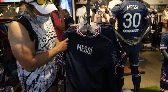 PSG'de Messi formaları bir haftada bir milyondan fazla satıldı