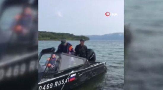 Rusya'da helikopter göle düştü: 8 ölü