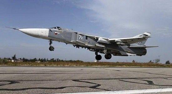 Rusya'da Su-24 savaş uçağı düştü