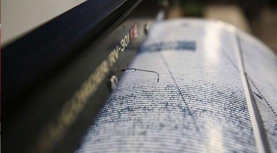 Son dakika deprem! Ege Denizi'nde 5.0 büyüklüğünde deprem
