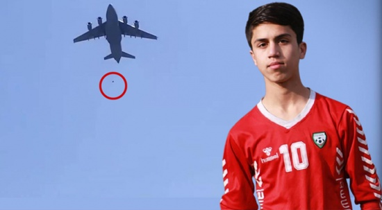 Uçaktan düşüp ölen Afganların kimliği ortaya çıktı