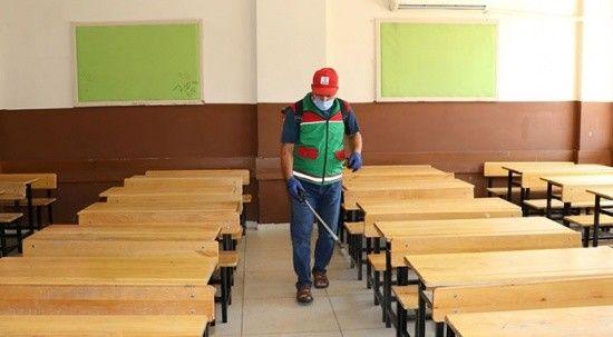 Yüz yüze eğitim öncesi okullarda kapsamlı temizlik