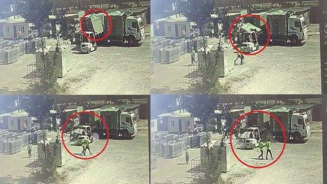 1,5 tonluk elektrik trafosunun altında kalıp öldü!