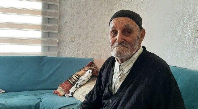 107 yaşındaki Osman dedenin tek isteği: 40 yıl önce evi terk eden oğlunu görmek