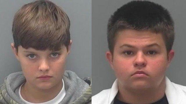 ABD'de iki çocuk okulda katliam yapacaktı