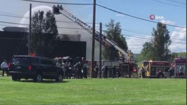 ABD'de özel jet düştü: 4 kişi öldü