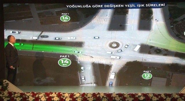 Akıllı ışıklarla trafik hep açık