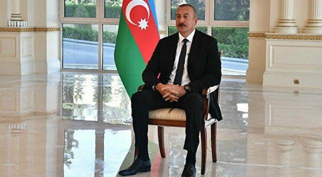 Aliyev gözyaşlarını tutamadı: 'Her zaman gözümün önünde onlar vardı'