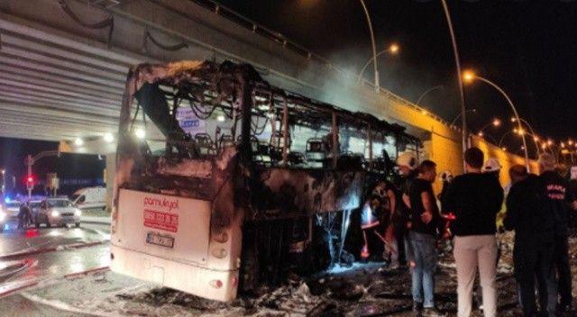 Ankara'da yolcu otobüsünün yandığı olayda ölü sayısı yükseldi