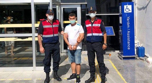 Antalya'da cezaevinden kaçan firari Hatay'da yakalandı