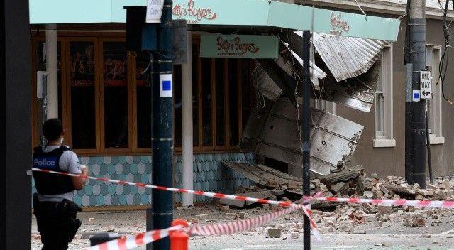 Avustralya'da 6 büyüklüğünde deprem: Binalarda hasar oluştu