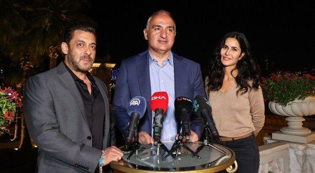 Bakan Ersoy: Bollywood'un platosu olacağız