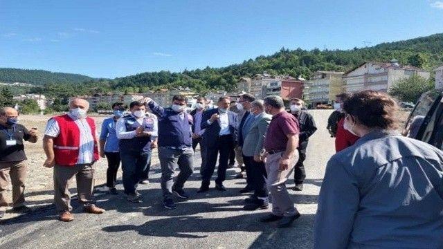 Bakan Kasapoğlu, selzedelerle buluştu