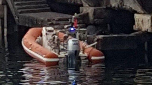Balık ararken ceset buldular