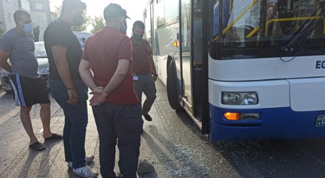 Bayılan yolcuyu hastaneye yetiştirmeye çalışırken silahlı saldırıya uğradı