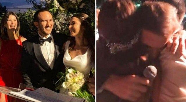 Beren Saat ölen eski sevgilisinin kardeşinin düğününe katıldı!