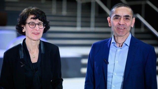 BioNTech'in mimarlarına Almanya'nın en prestijli ödülü