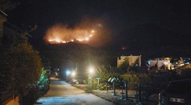 Bodrum'da yangın! Müdahale sürüyor