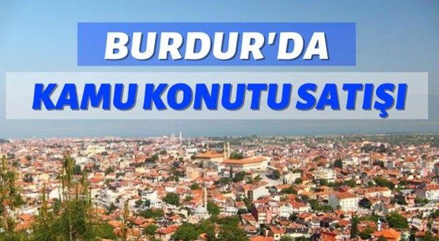 Burdur'da kamu konutu satışı yapılacak
