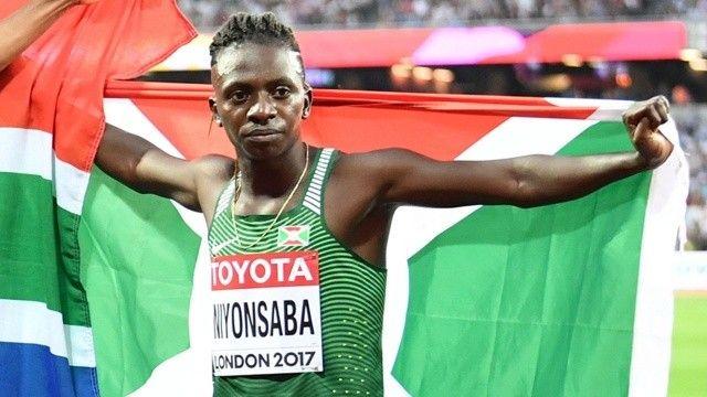 Burundili atlet Hırvatistan'da rekor kırdı