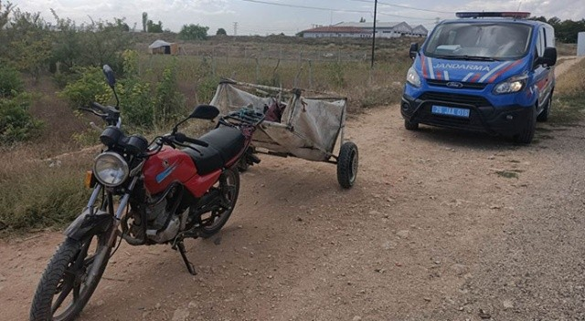 Çalıntı motosiklet ile yakalandılar! Maskeden ceza yediler