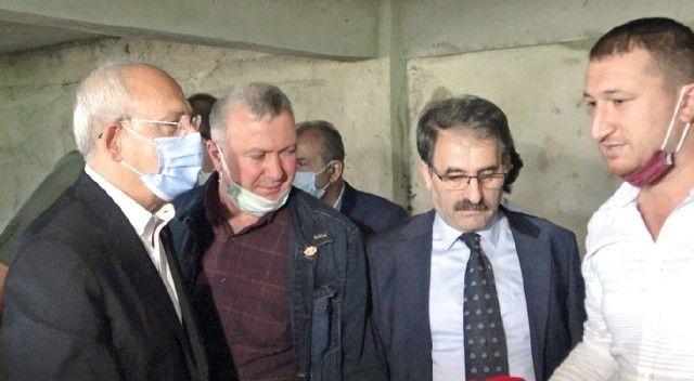 CHP'li başkanın oğlu çiftçi gibi davrandı