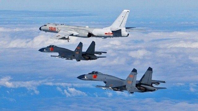 Çin, 9 savaş uçağıyla Tayvan'ın hava sahasını ihlal etti