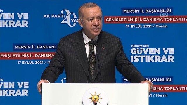 Cumhurbaşkanı Erdoğan'dan muhalefete 'kuşak' tepkisi