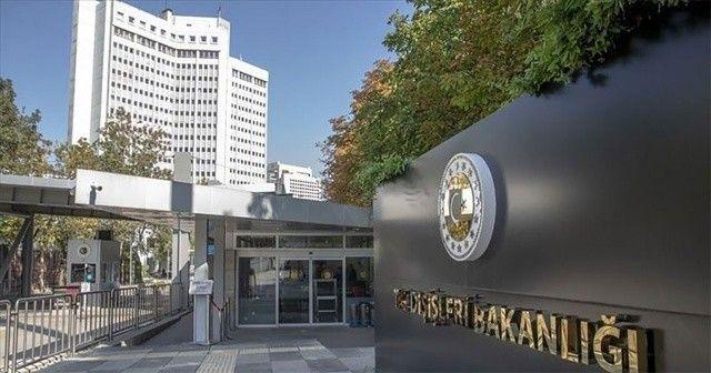 Dışişleri Bakanlığı'ndan 'Atina bildirisi'ne tepki