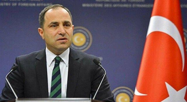 Dışişleri Bakanlığı Sözcüsü Bilgiç: Türkiye, Kırım'ın hukuka aykırı ilhakını tanımamaktadır