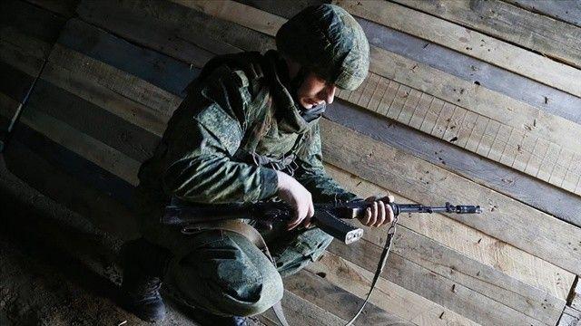 Donbas'ta bir Ukrayna askeri hayatını kaybetti