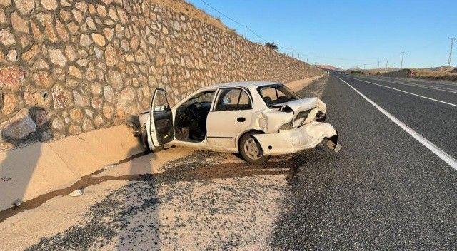 Elazığ'da trafik kazası: Yaralılar var