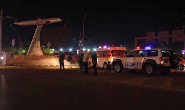 Erbil Havalimanı'na İHA saldırısı