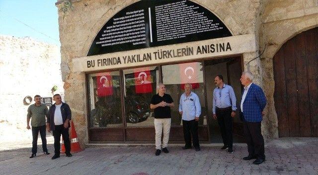 Ermenilerin, Türkleri  yaktığı fırın açıldı