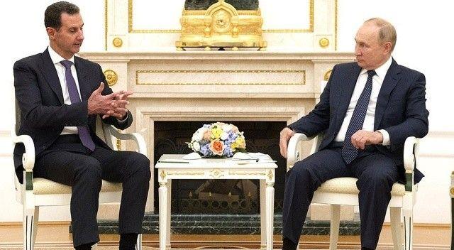 Esad 6 yıl sonra Moskova'da Putin ile bir araya geldi