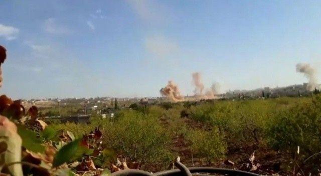 Esad güçleri İdlib'e topçu saldırısı düzenledi: 4 ölü, 15 yaralı