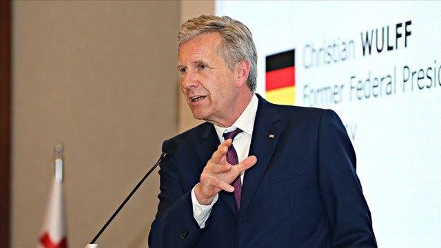 Eski Almanya Cumhurbaşkanı Wulff: Türkler Alman tarihinin bir parçası
