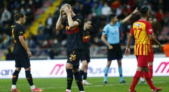Galatasaray, deplasmanda fark yedi: 3-0