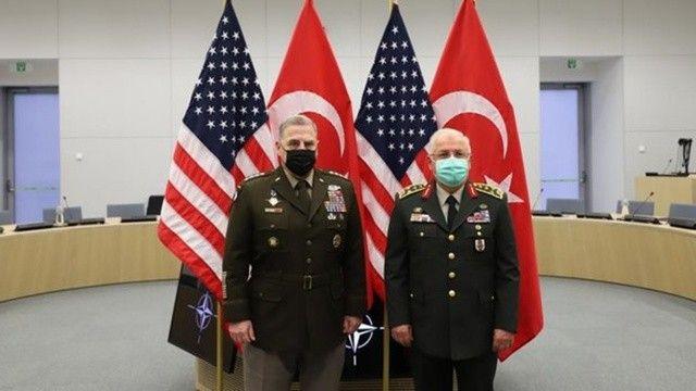 Genelkurmay Başkanı Güler, ABD'li mevkidaşıyla Afganistan'ı görüştü
