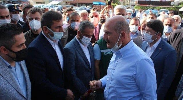 İçişleri Bakanı Soylu sel afetinin bilançosunu açıkladı