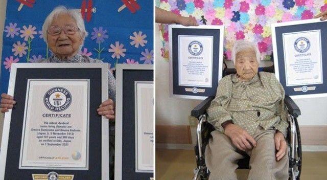 İkiz kız kardeşler 107 yıl 300 gündür yaşıyor