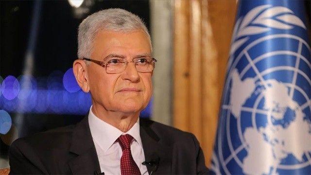 İlk Türk BM Genel Kurul Başkanı Bozkır görevi devretti