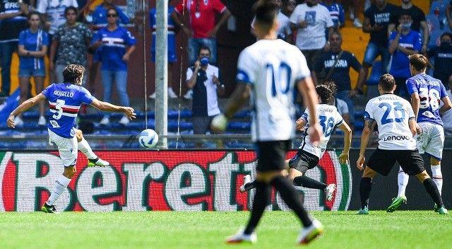 Inter, Sampdoria deplasmanında takıldı