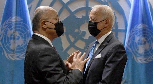 Irak Cumhurbaşkanı Salih, Biden ile görüştü