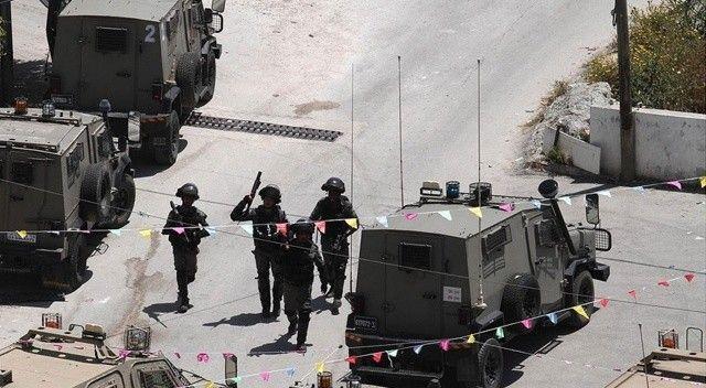 İşgalci İsrail'den Batı Şeria'ya saldırı